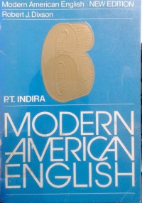 Image of Modern American English : book 6