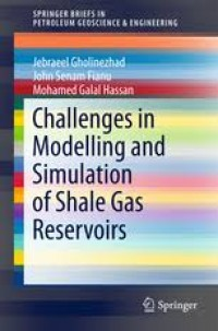 Image of Challenges in Modelling Simulation of Shale Gas  Reservoirs